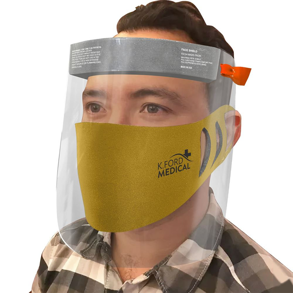 Face Shield + Mask Kit - Personalization Available