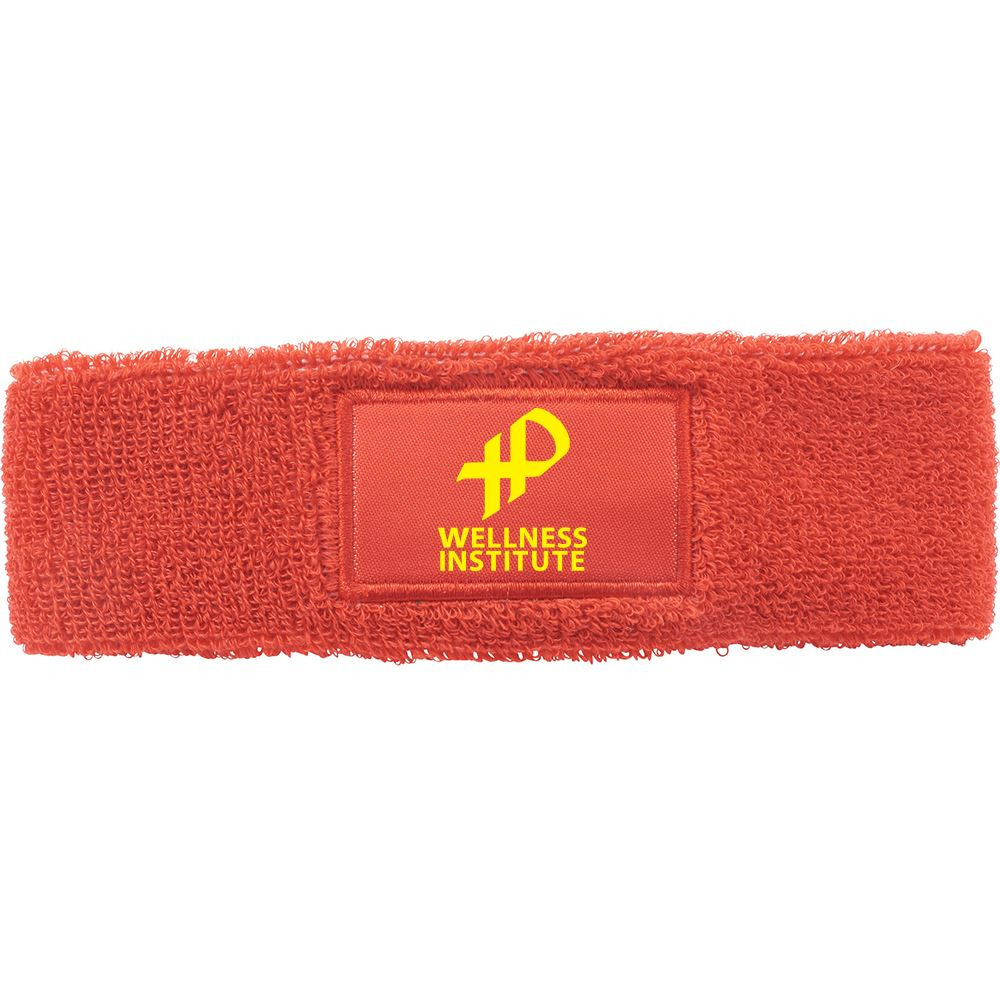 Victory Sweatband With Patch - Personalization Available