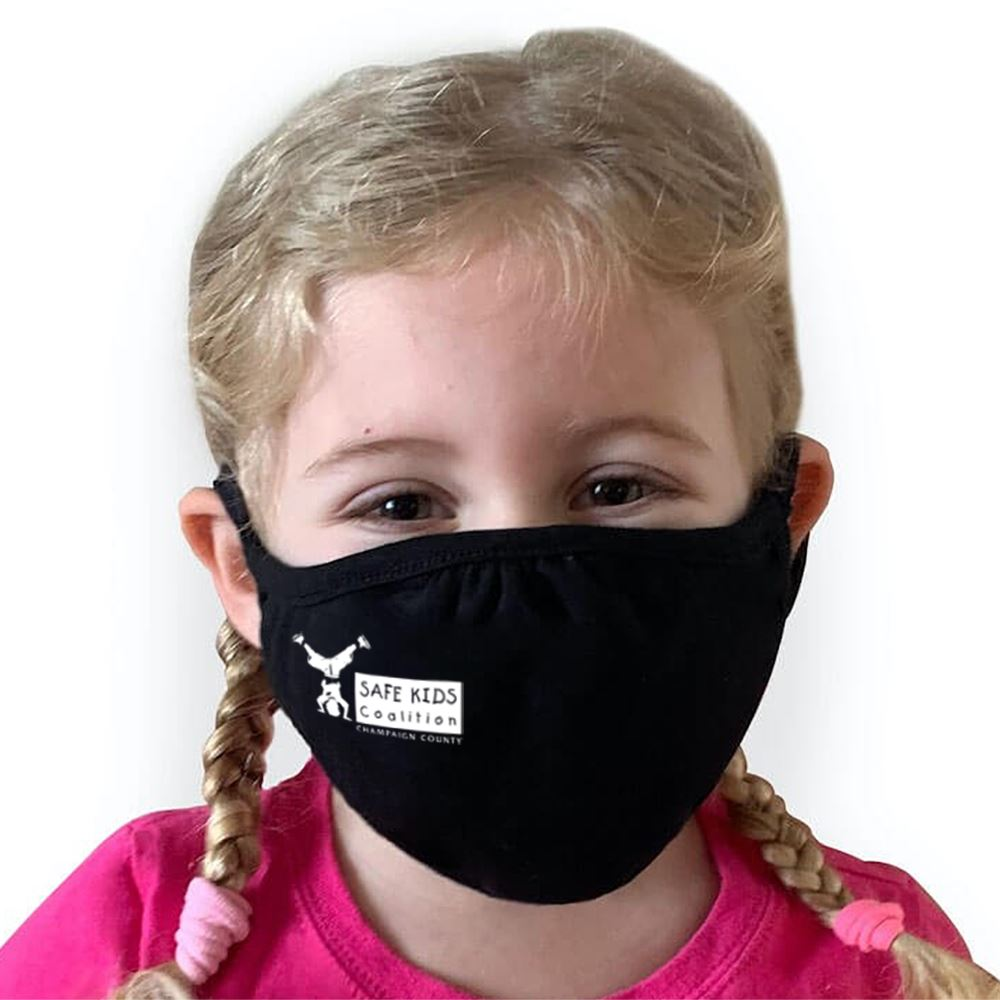 Next Level Eco-Friendly 2-Ply Blended Youth Face Mask - 1-Color Personalization Available