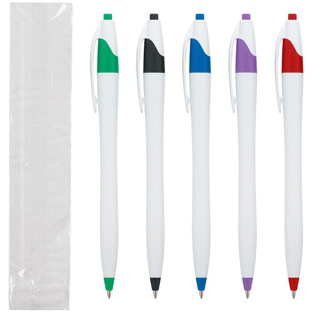 Dart Pen - Single Use - Individually Wrapped - White