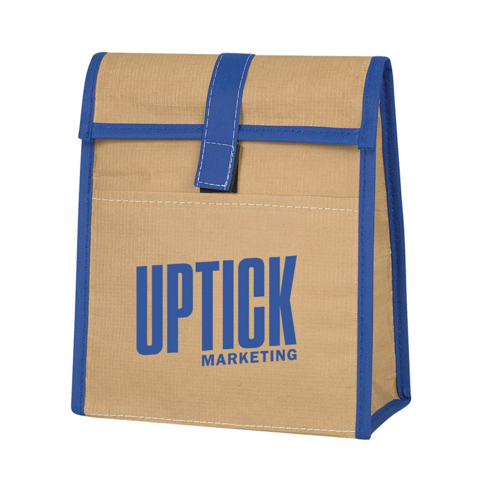 Woven Paper Lunch Bag - Personalization Available