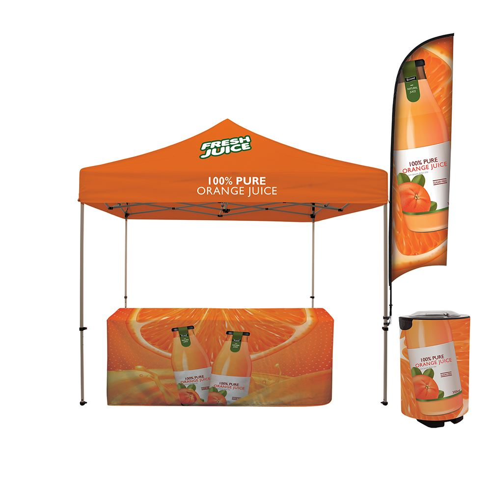 Tailgater Total Show Package-Personalization Available