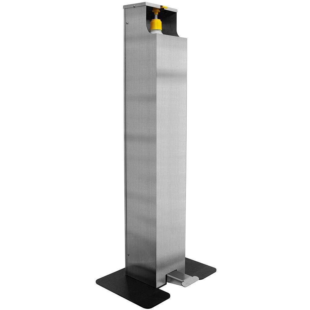 Foot Pedal Hand Sanitizer Dispenser Floor Stand