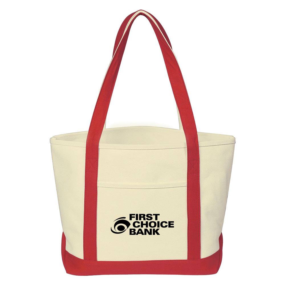 Heavy Cotton Canvas Tote Bag-Personalization Available