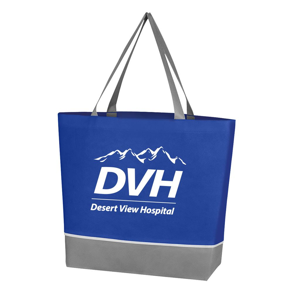 Non-Woven Overtime Tote Bag-Personalization Available