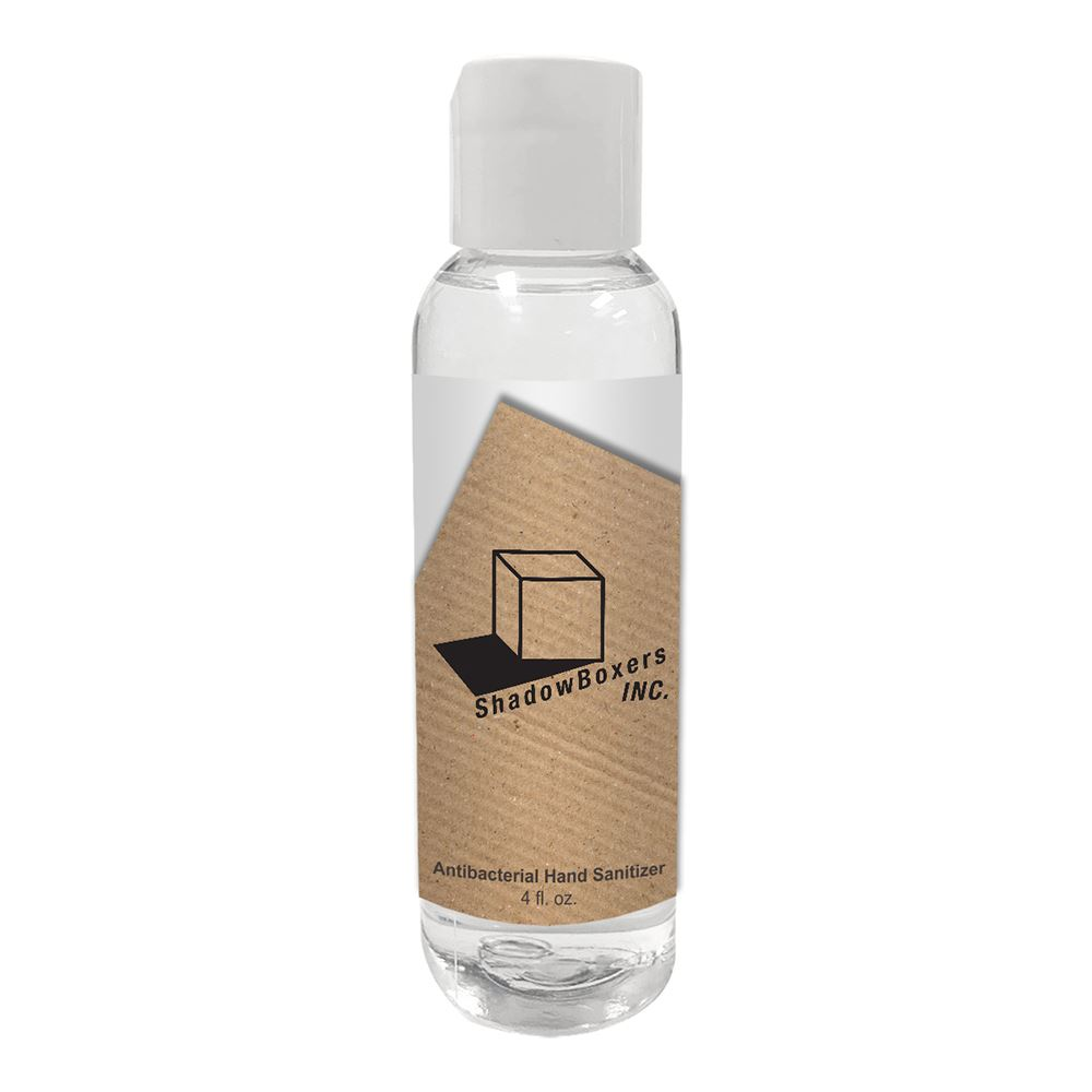 American Made 4 oz.� Gel Hand Sanitizer Bottle - Personalization Available