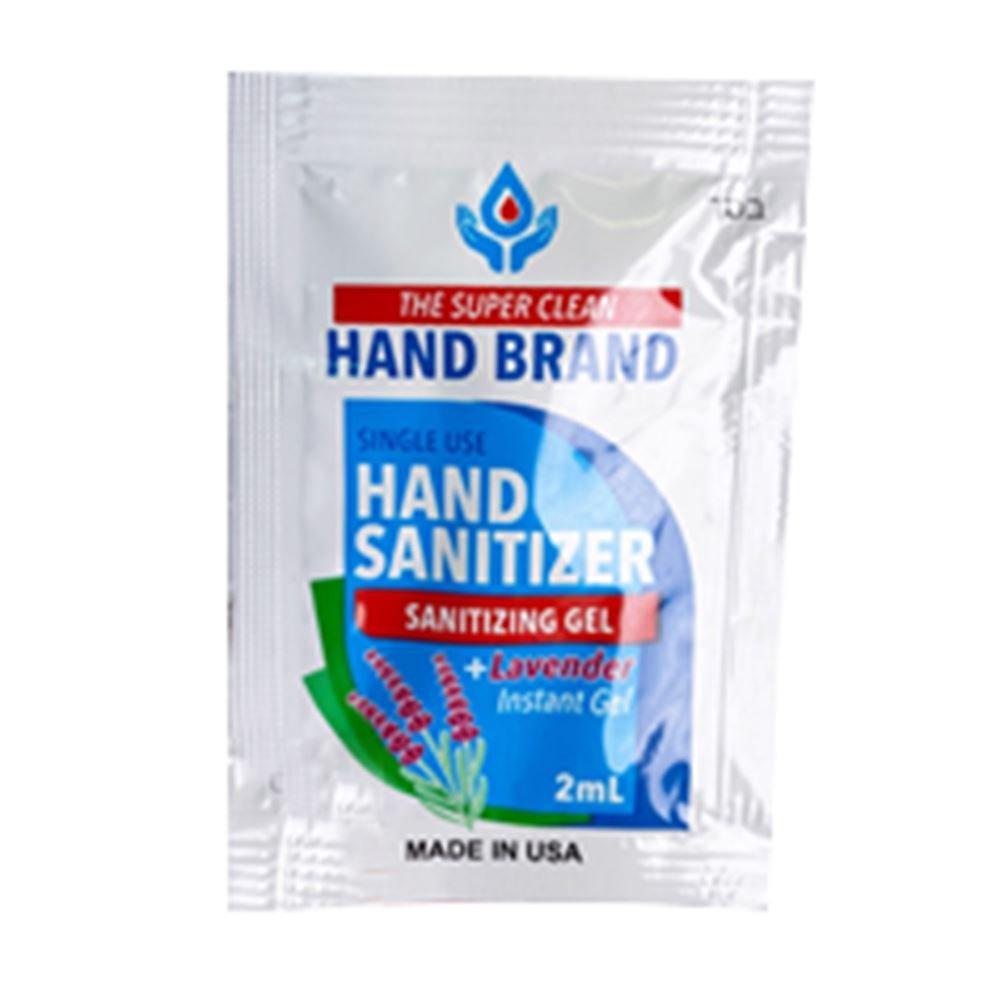 Single Use Gel Sanitizer Pack