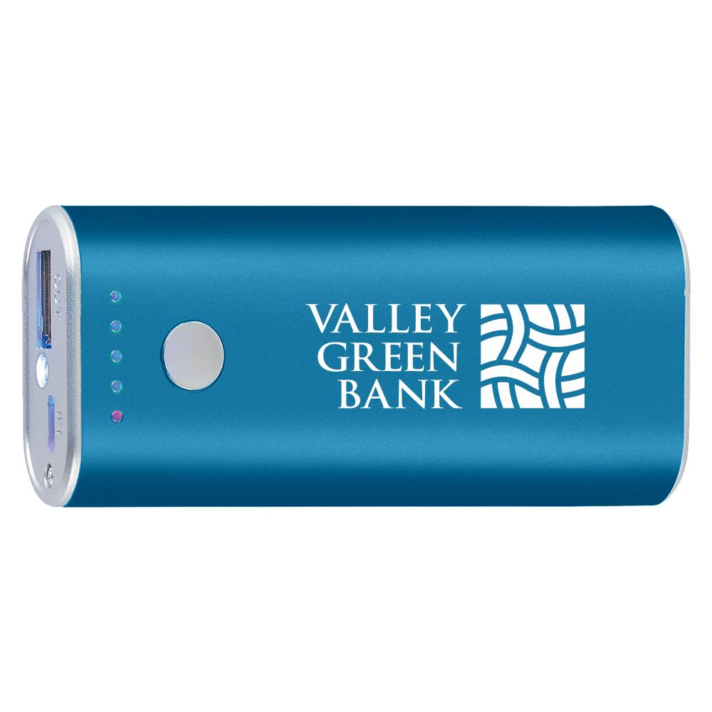 Ul Listed Mega-Charge Power Bank-Personalization Available