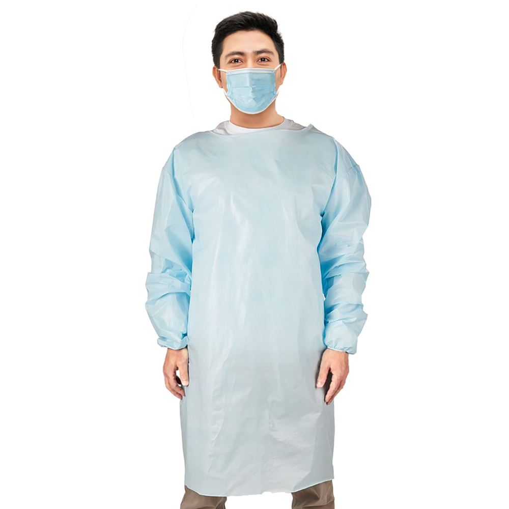 Disposable Level 3 Blue PPE Isolation Gown