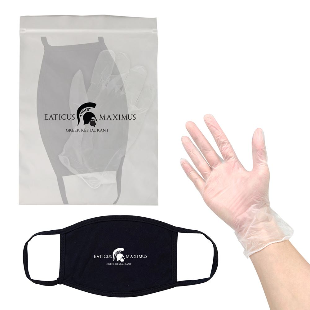 Mask And Gloves Value Kit - Personalization Available