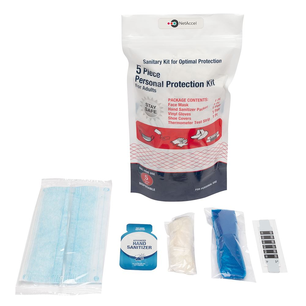 5pc PPE Kit II 5pc Personal Protection Kit