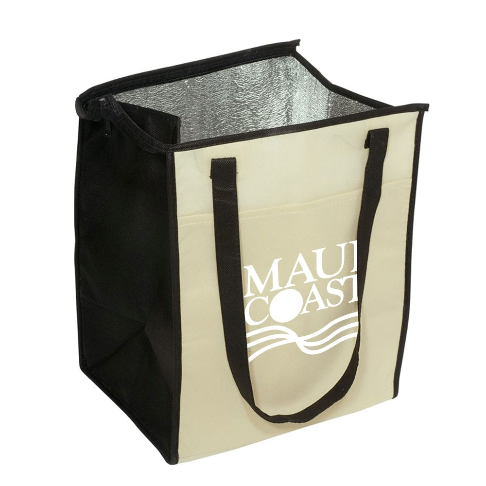 Insulated Grocery Tote - Personalization Available