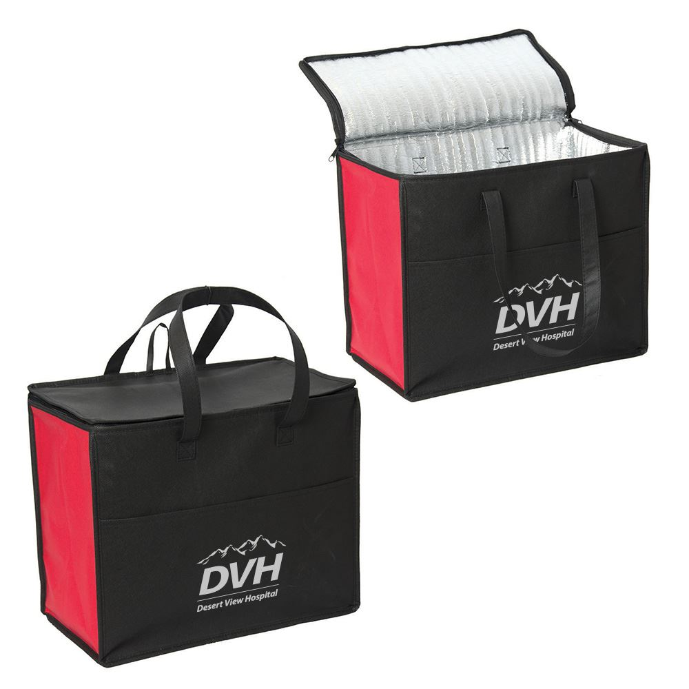 Crystal Bowl Large Non-Woven Cooler - Personalization Available
