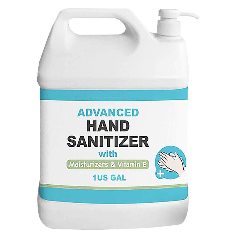 1 Gallon hand sanitizer gel with pump head