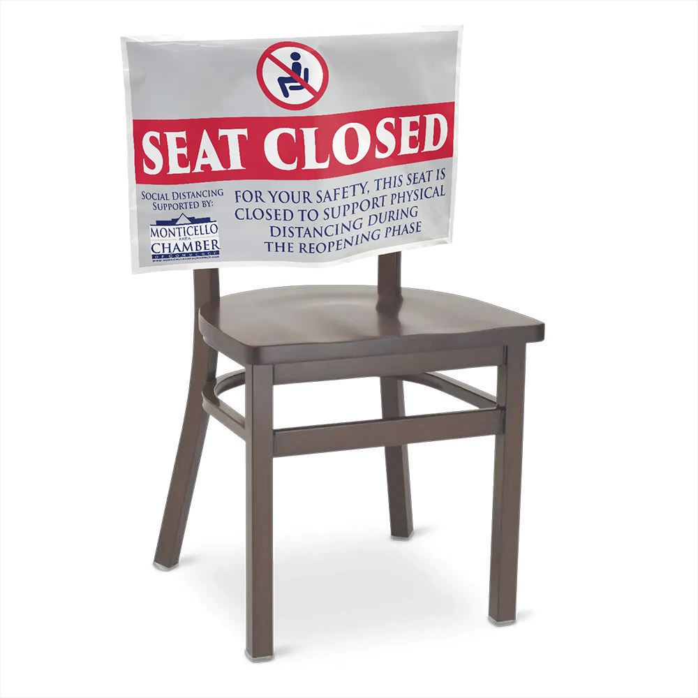 Custom Design Seat Sign - Personalization Available