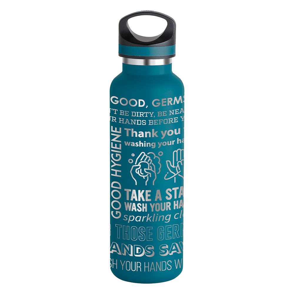 Basecamp Tundra Bottle 20 oz - Hygiene Word Cloud
