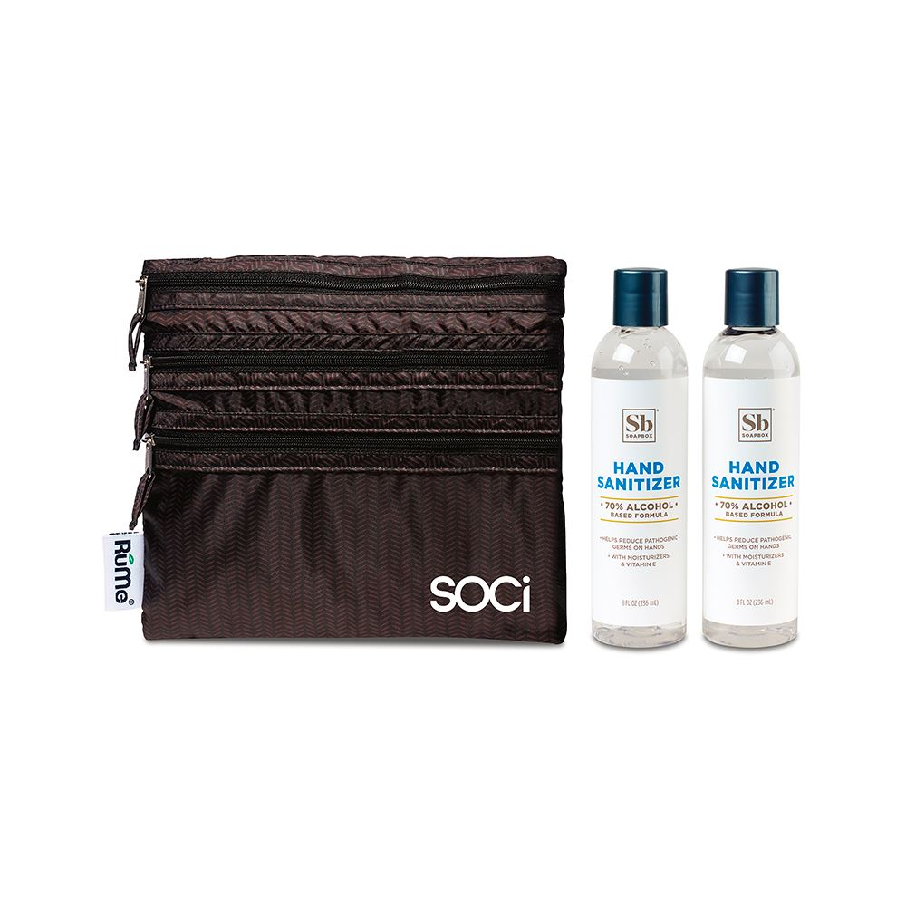 Soapbox Hand Sanitizer Duo Gift Set - Personalization Available