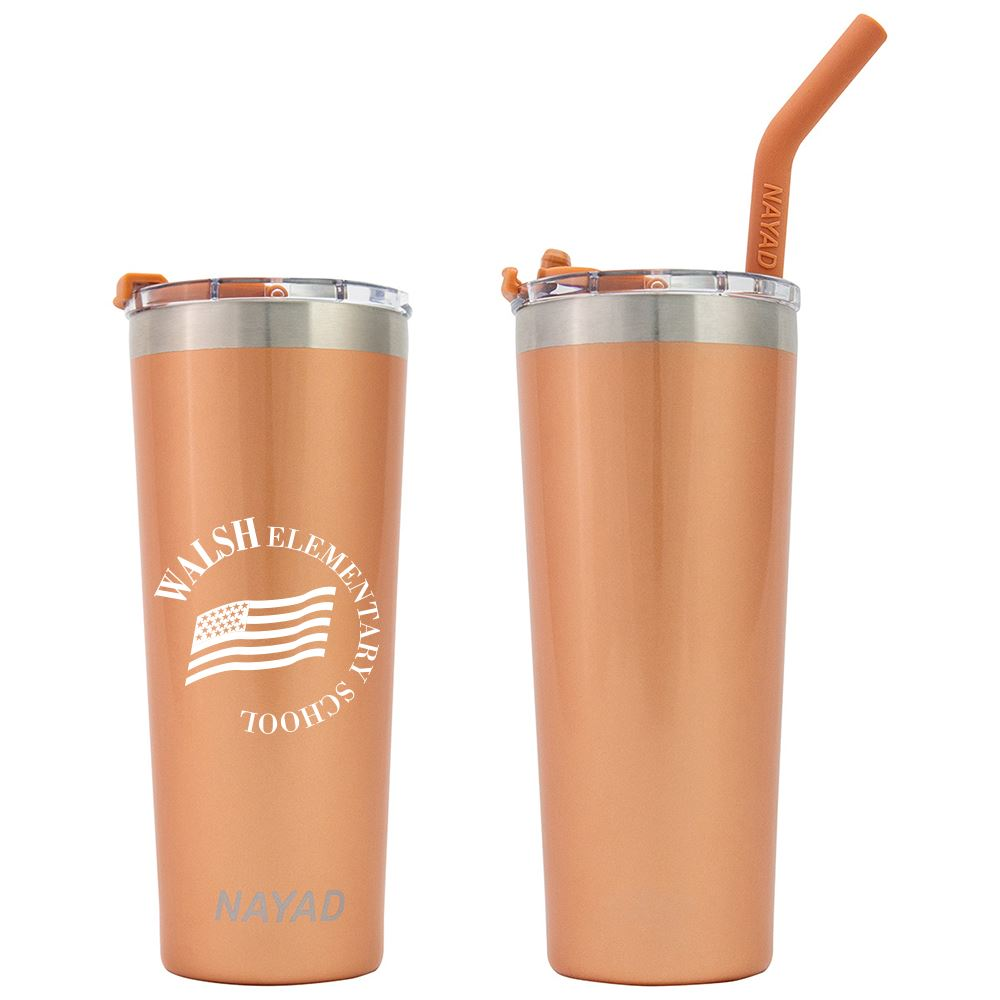 Nayad 22 oz Stainless Steel Double Wall Tumbler - Personalization Available