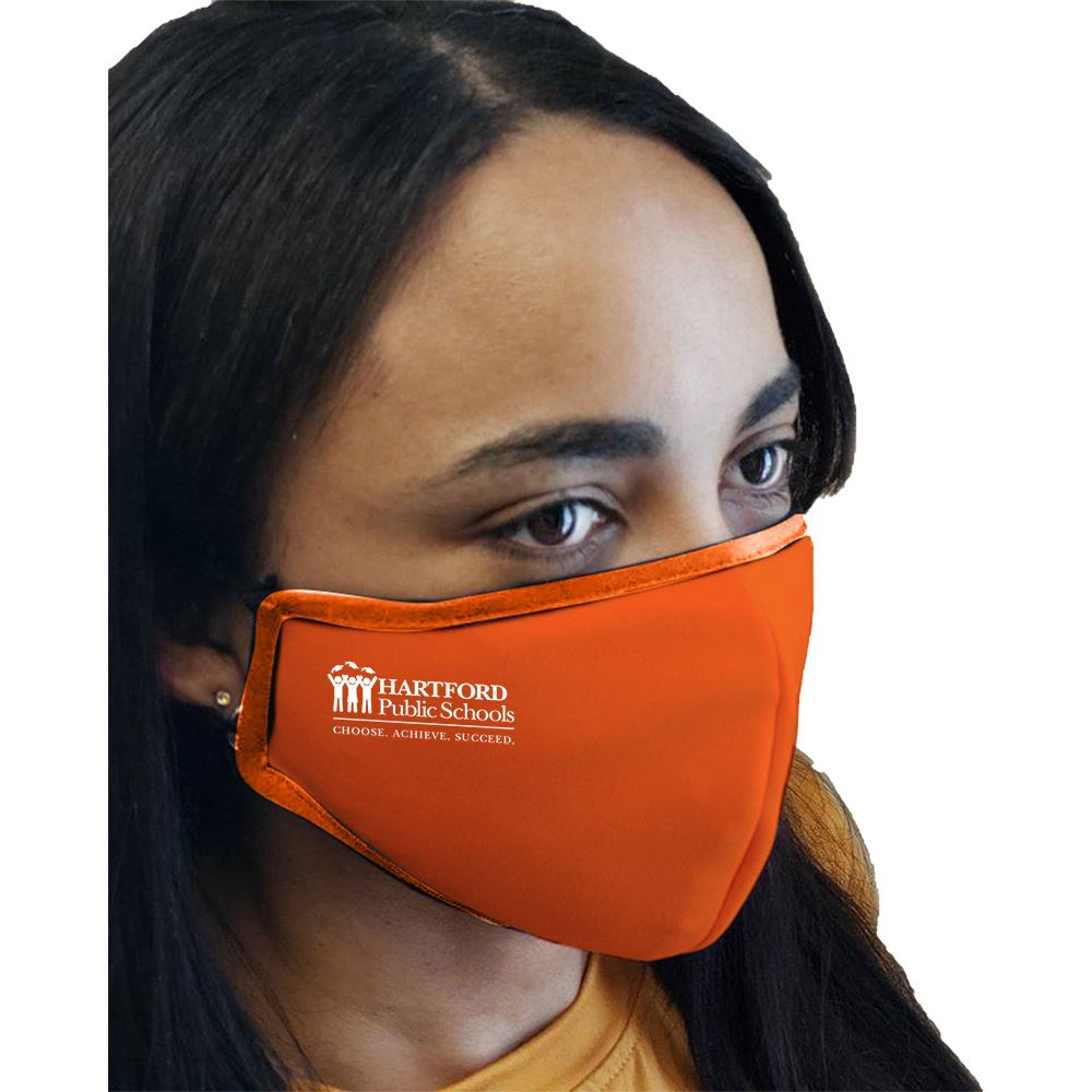 2-Ply Blended Face Mask With Adjustable Ear Loops - Personalization Available
