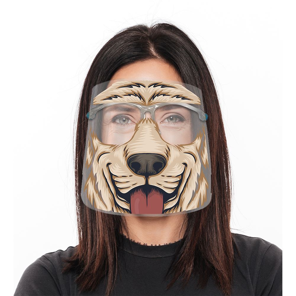 Fun Animal Face Shield