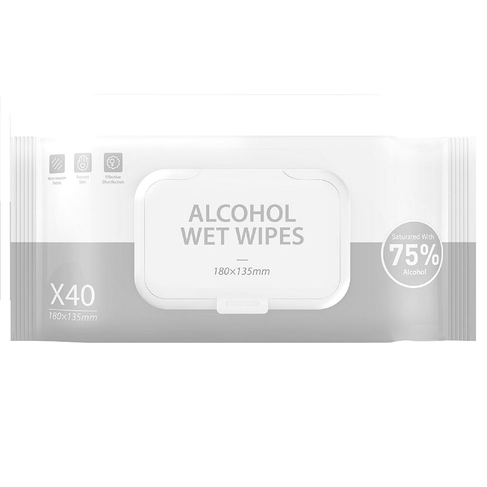 Sanitizing Alcohol Wipes Pack of 40
