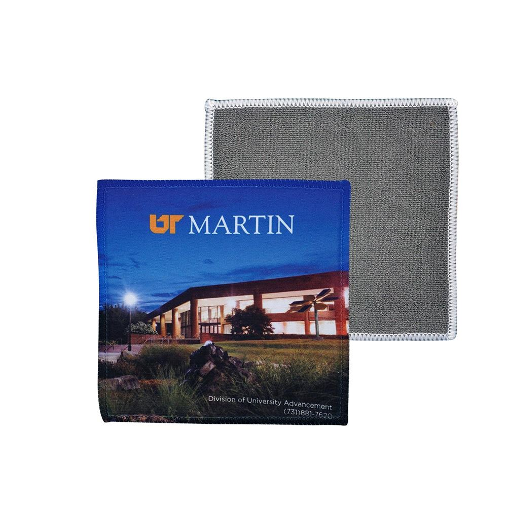 5 X 5 Terry Full Color Cleaning Cloth-Personalization Available