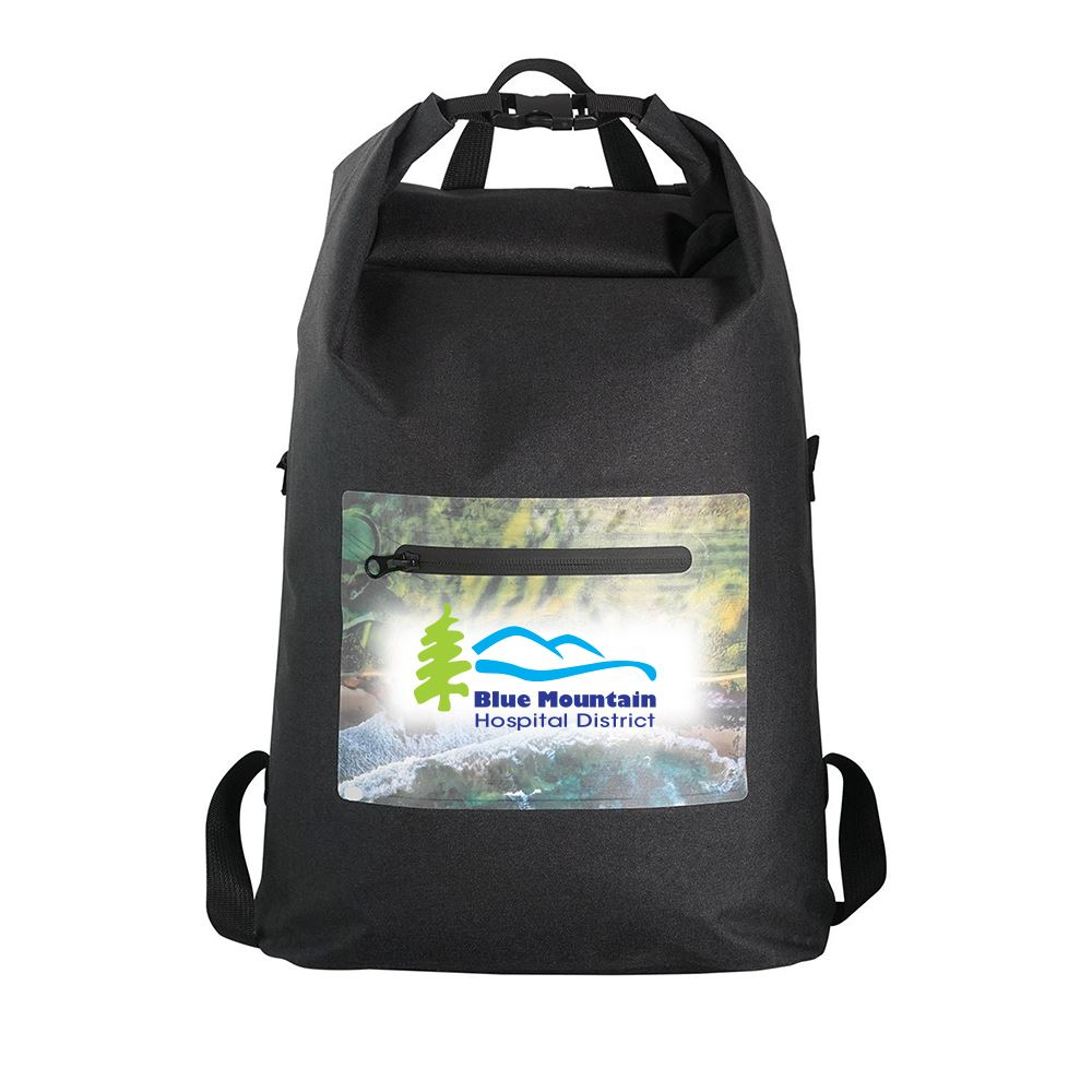 Waterproof Roll Up Backpack-Personalization Available