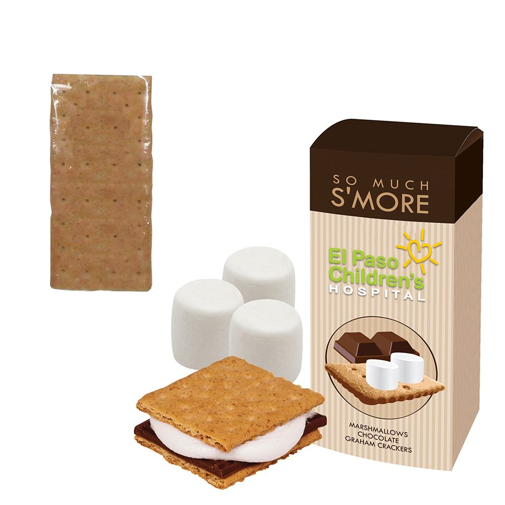 S'mores Kit in a Box - Full Color Personalization Available