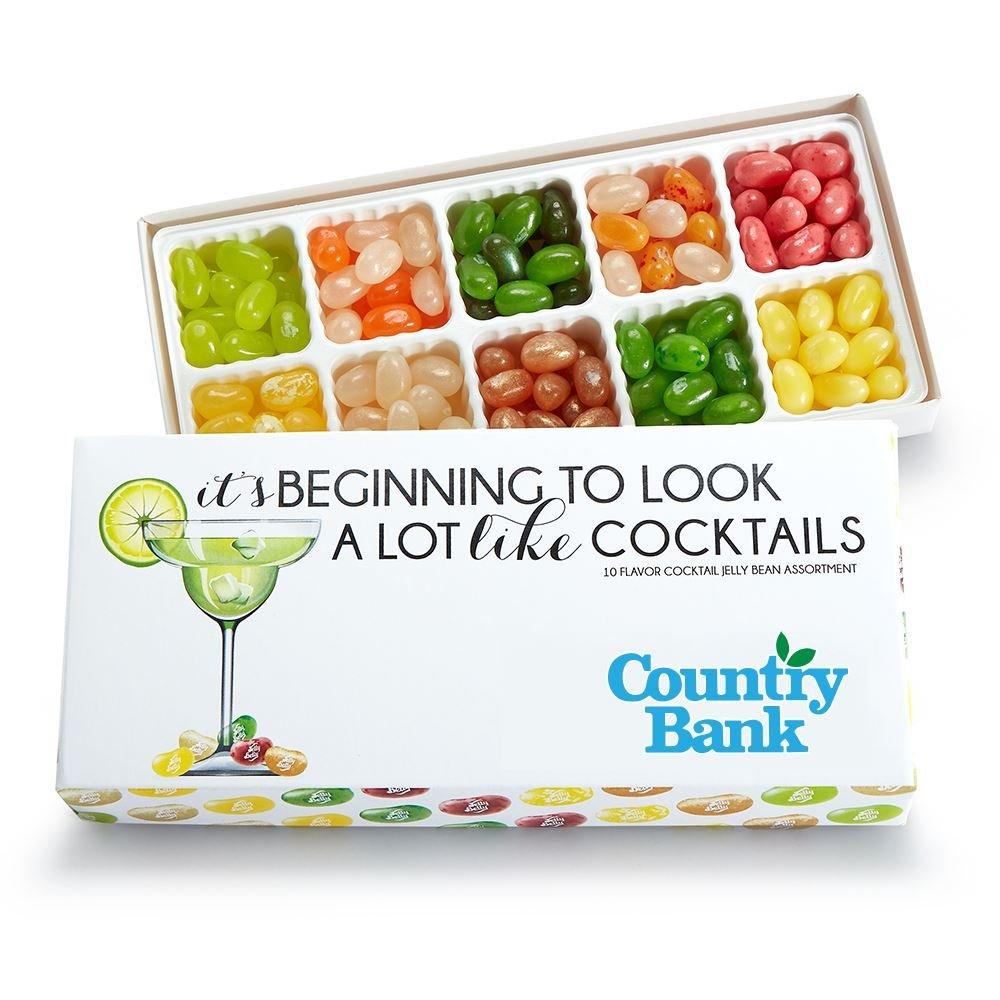 10 Flavor Cocktail Jelly Bean Box