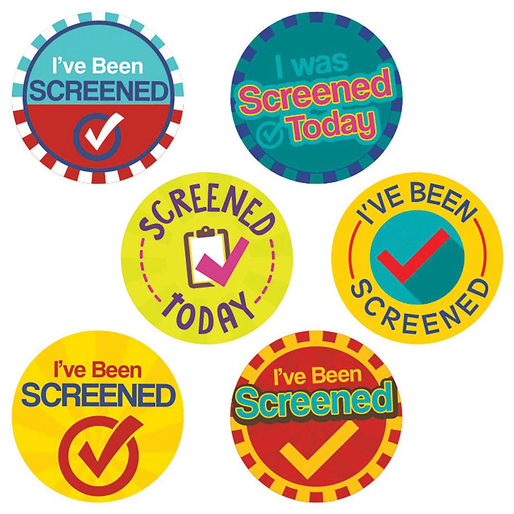 COVID Testing Stickers