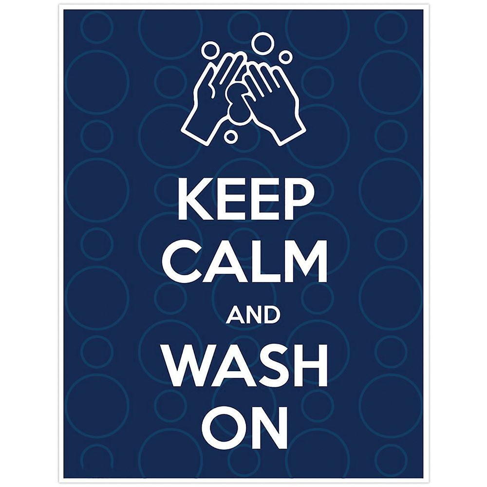 Keep Calm Wash On Sign