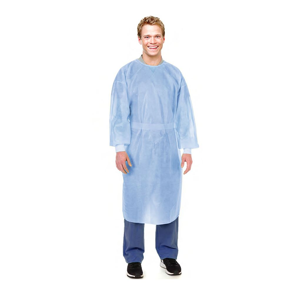 Disposable Level 2 Isolation Gown With Cuffs
