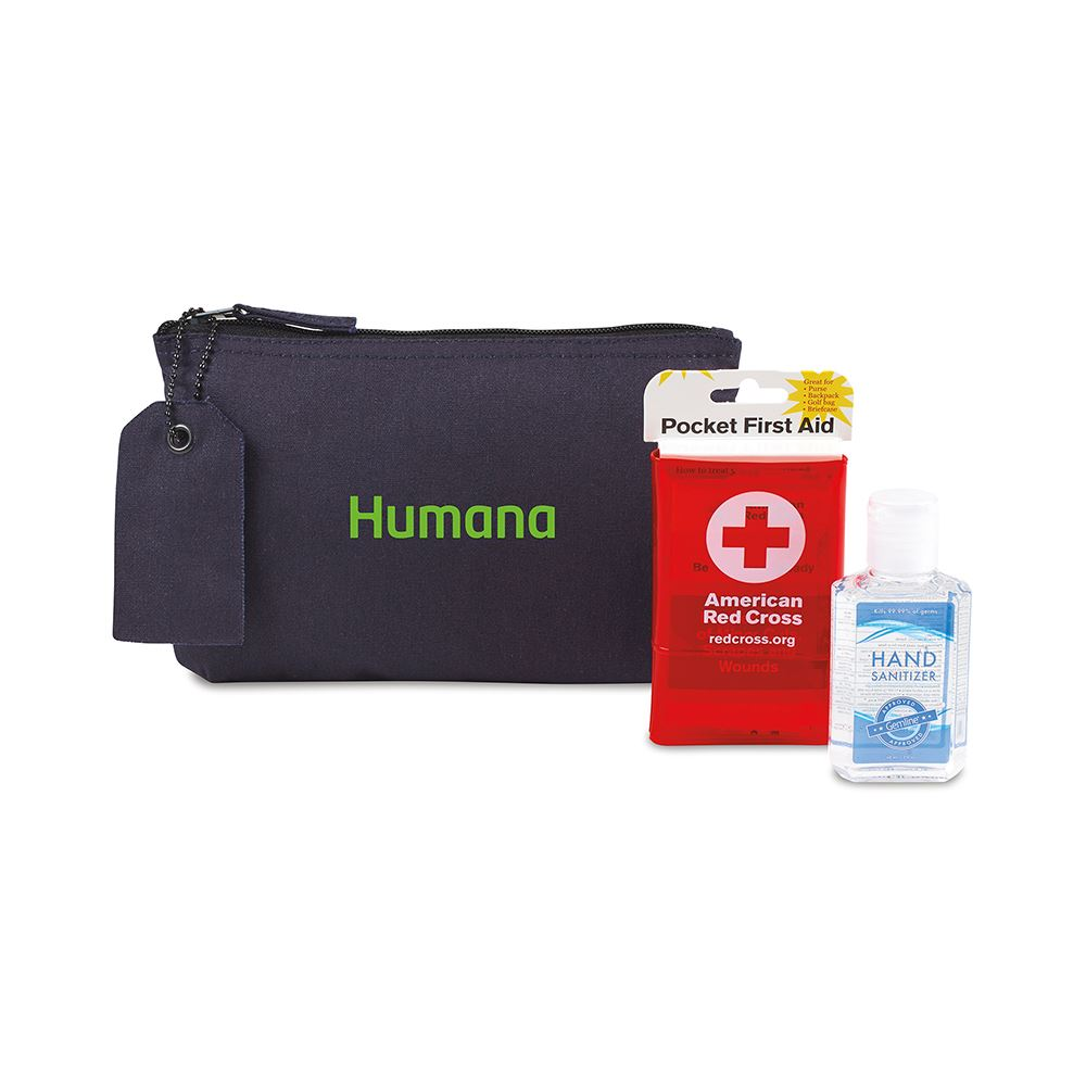 American Red Cross Pocket First Aid and Hand Sanitizer Bundle-Personalization Available