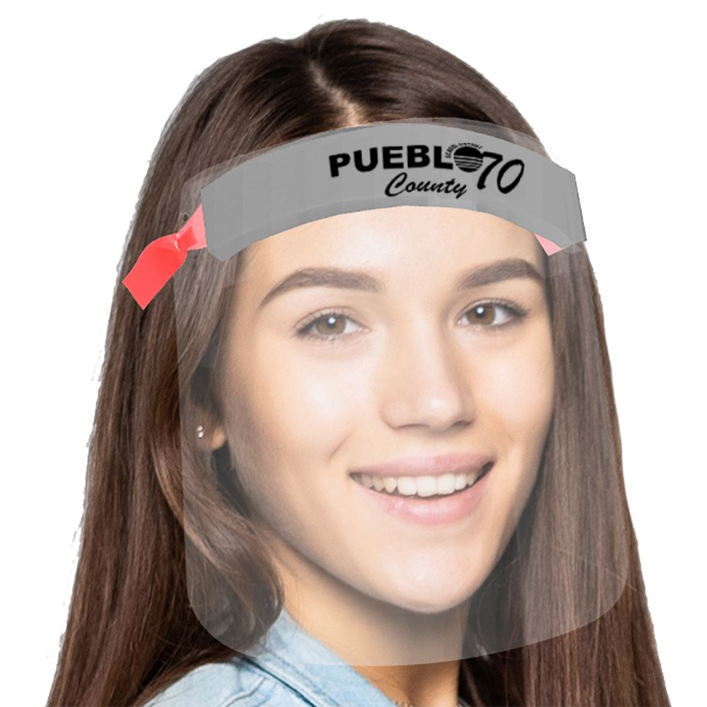 Adjustable Youth Face Shield -Personalization Available
