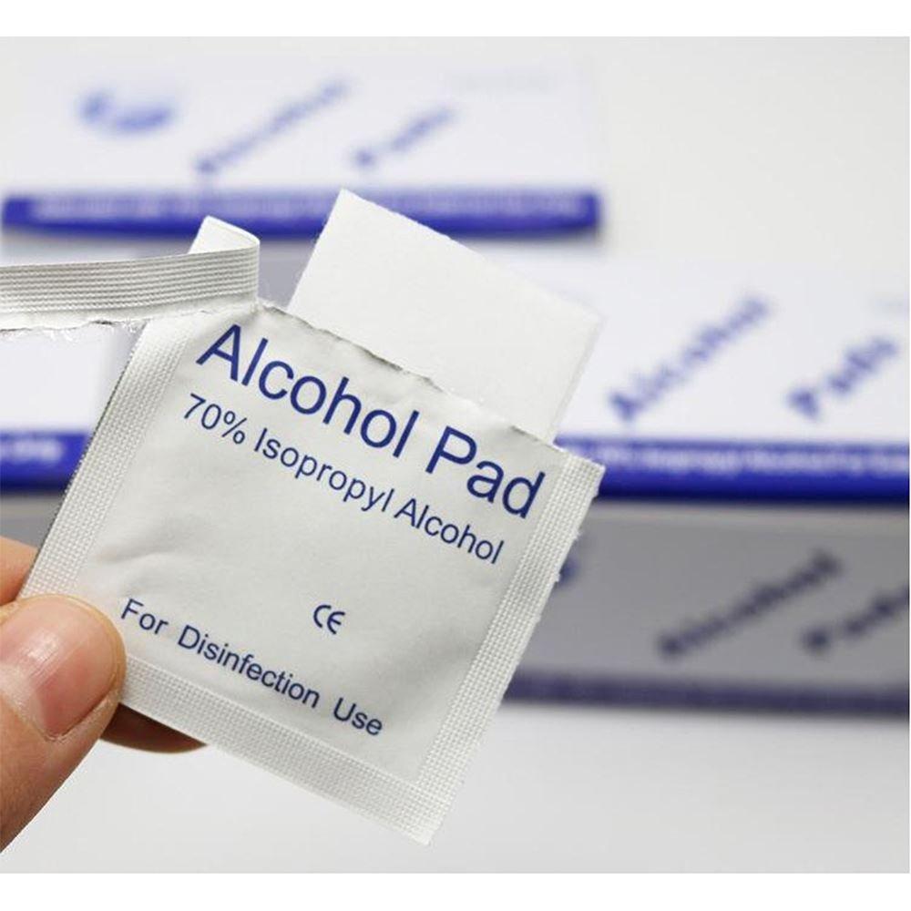 70% Alcohol Prep Pads- Box of 100