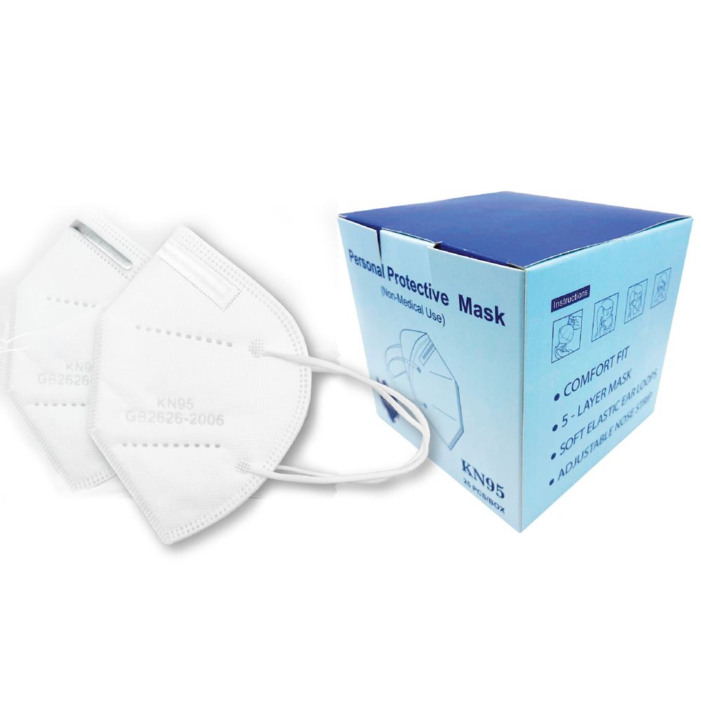 5-Ply KN95 Protective Face Mask