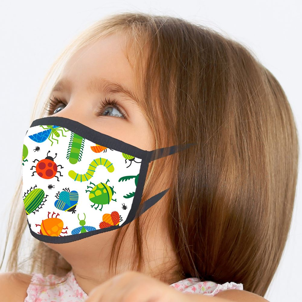 Youth Full-Color Sublimation Cooling Mask- Personalization Available