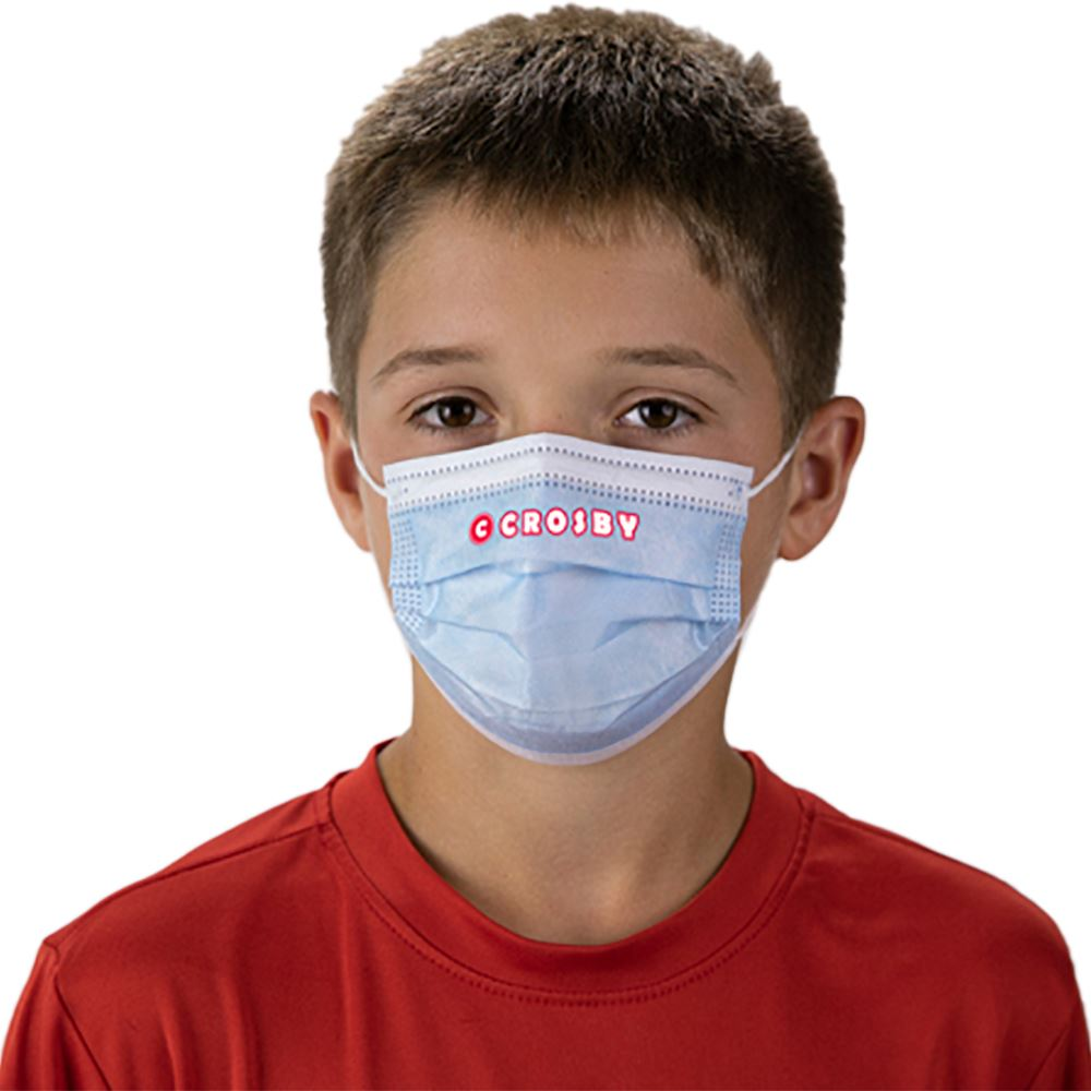 Child's Disposable 3-Ply Mask with Full-Color Personalization