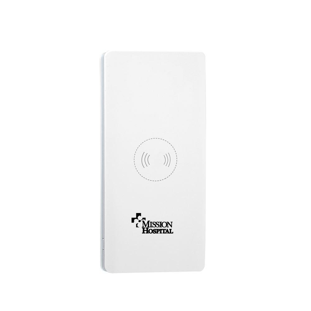 10,000 mAh Wireless Charging Power Bank - Personalization Available