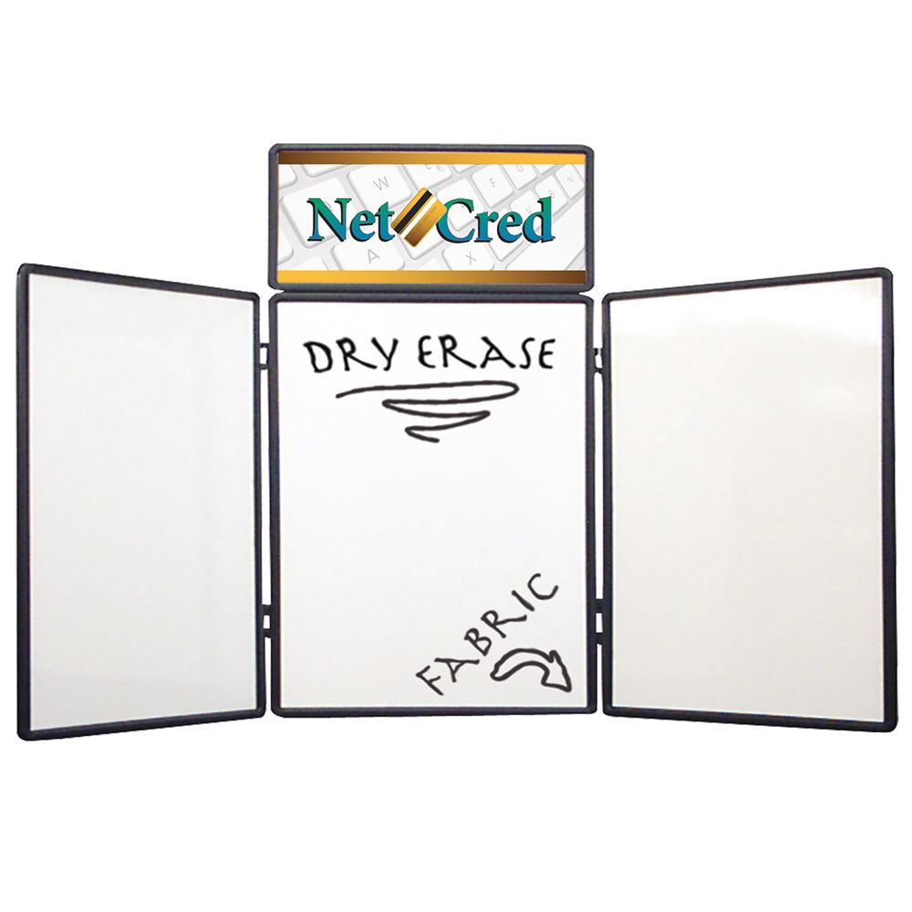 4' Show 'N Write Display (with Header Graphic Panel)-Personalization Available
