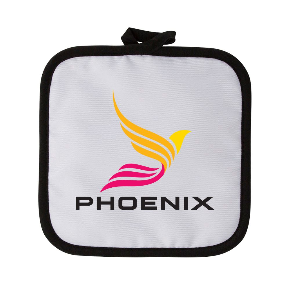 Dye-Sublimated Pot Holder - Full Color Personalization Available