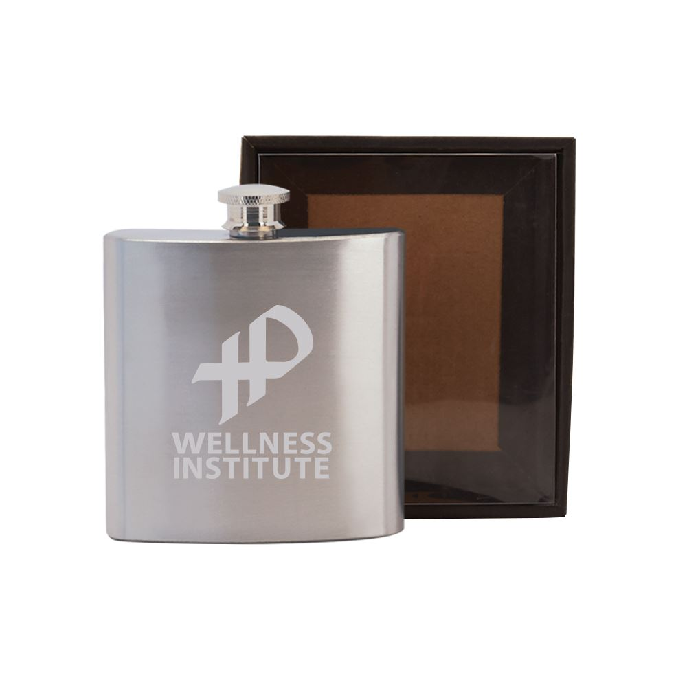 Bevvy Stainless Steel Flask in Gift Box - Personalization Available