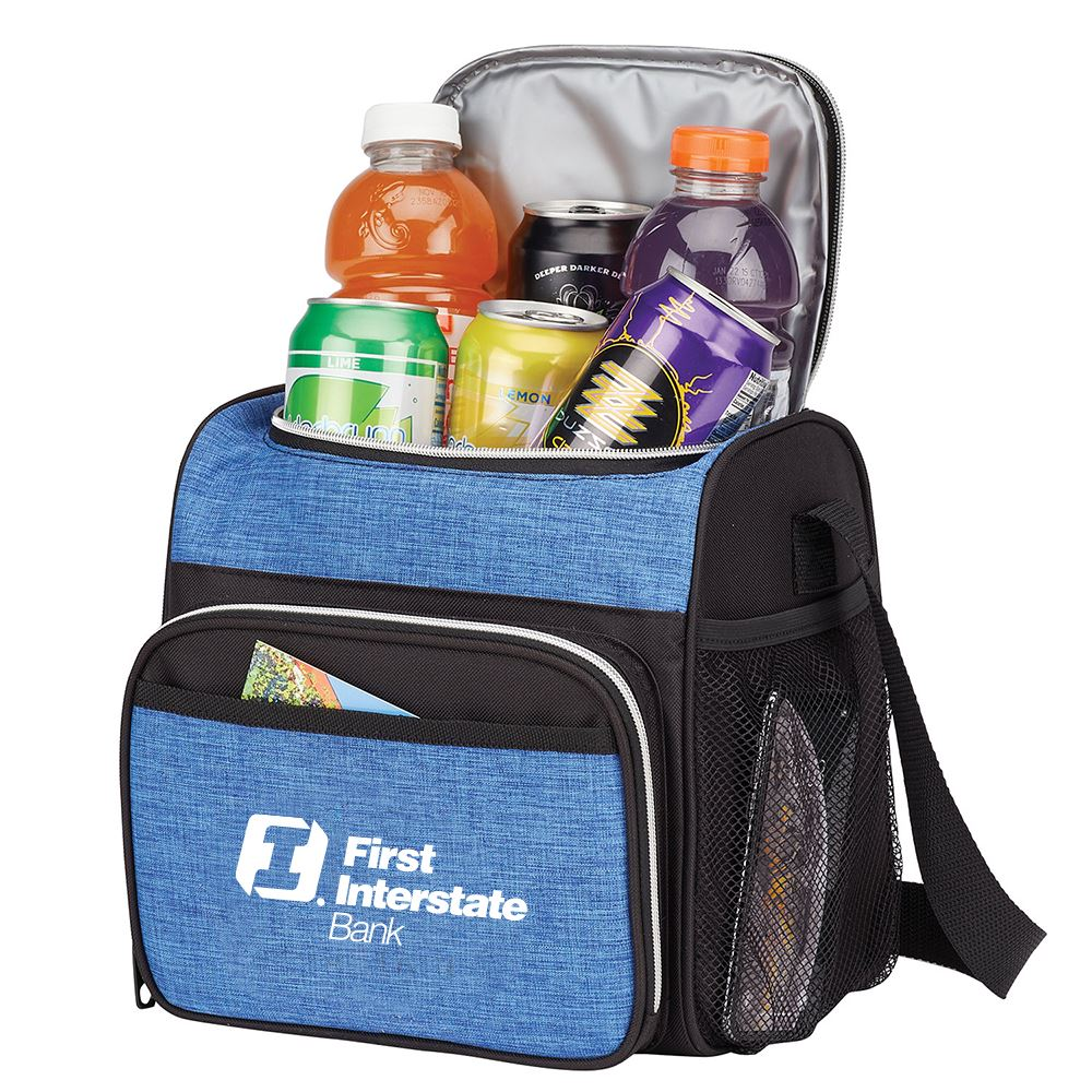 12-Can Heather Cooler - Personalization Available