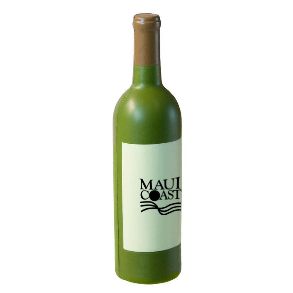 Wine Bottle Stress Reliever-Personalization Available