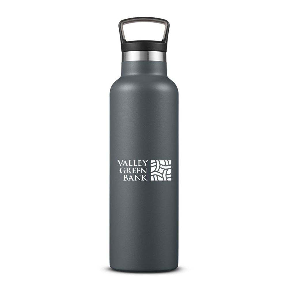 Columbia 21 Fl oz Double-Wall Vacuum Bottle with Loop Top- Personalization Available