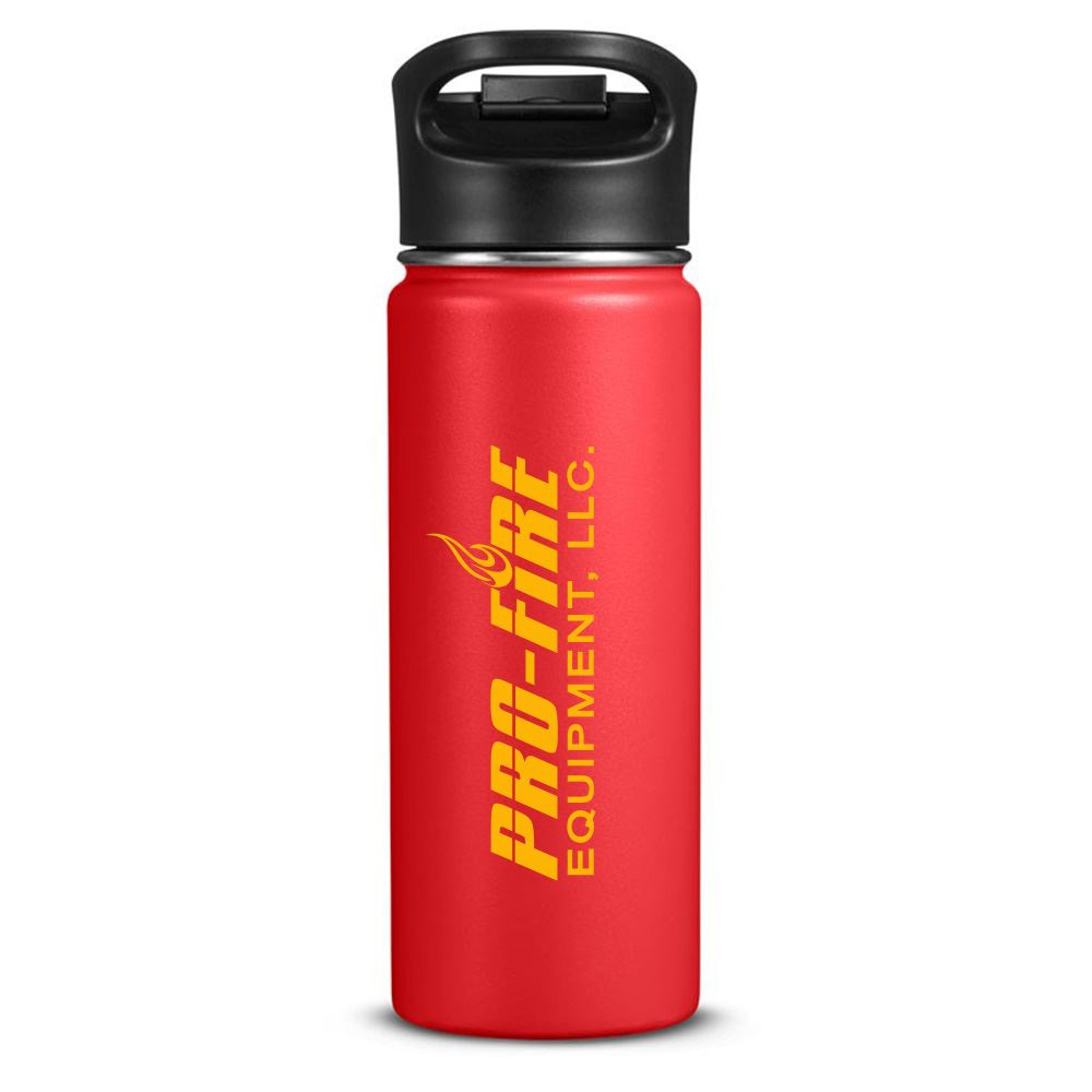 Columbia 18 Fl oz. Double-Wall Vacuum Bottle with Sip-Thru Top-Personalization Available