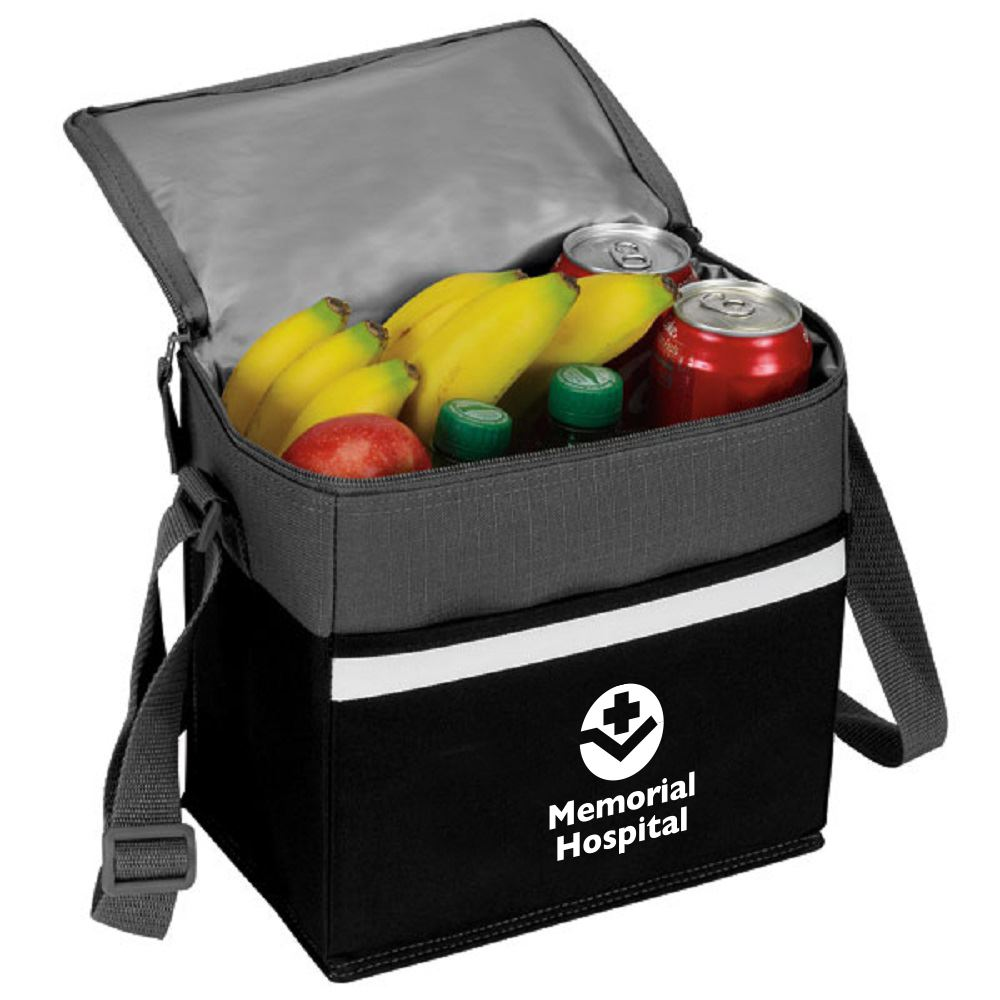 Two-Tone Accent 12-Pack Cooler-Personalization Available