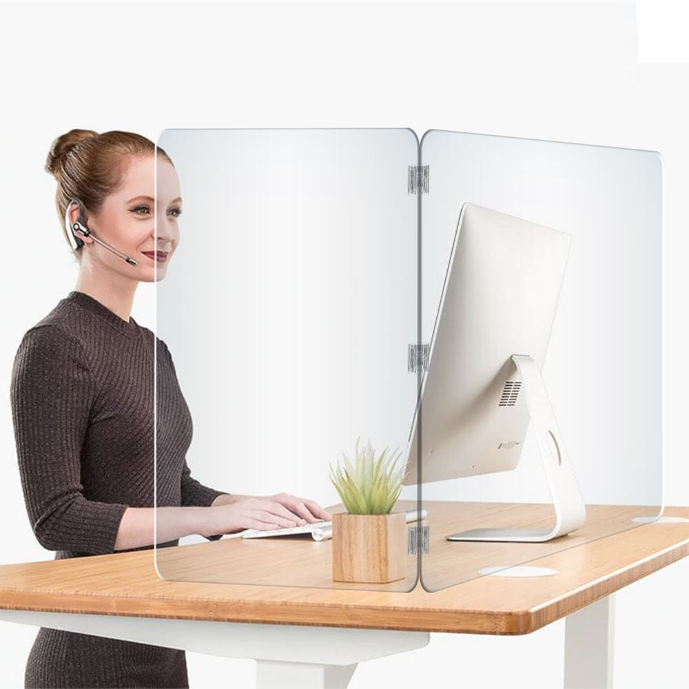 2-Panel Desk Shield