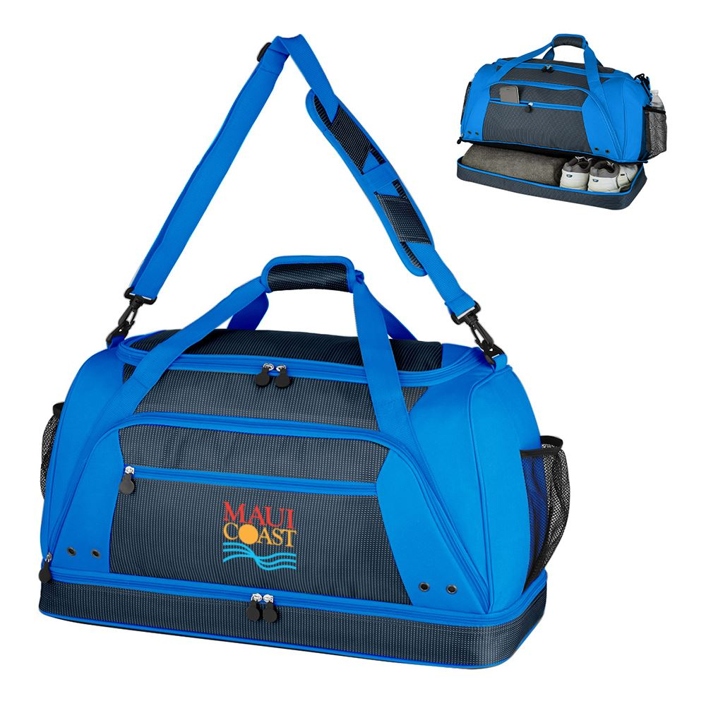 Rockfest Drop-Bottom Duffel Bag Embroidered Full Color -Personalization Available