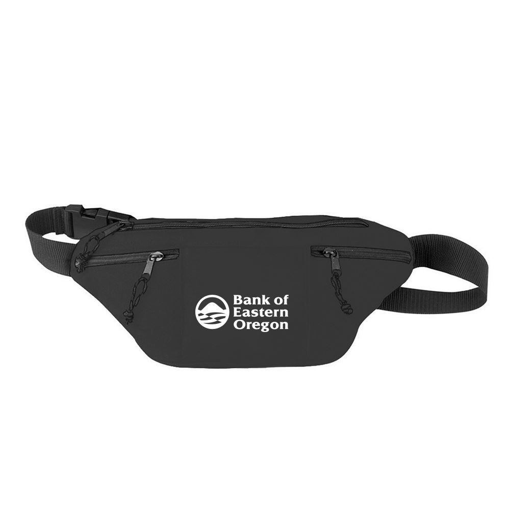 Four Pocket Sports Travel Hiking Camping Fanny Pack Waist Bag-Personalization Available